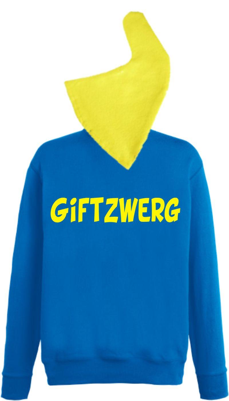 Zwerg Blau / Mütze Gelb