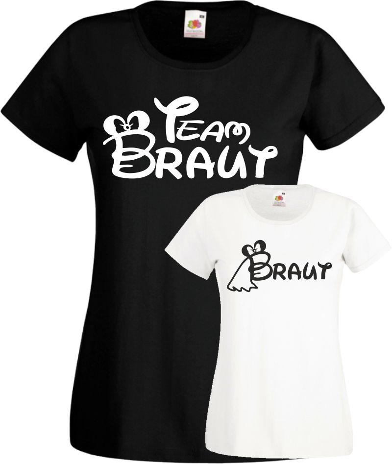 Team Braut Damen Jga TShirts Frauen Junggesellinnenabschied Wochenende